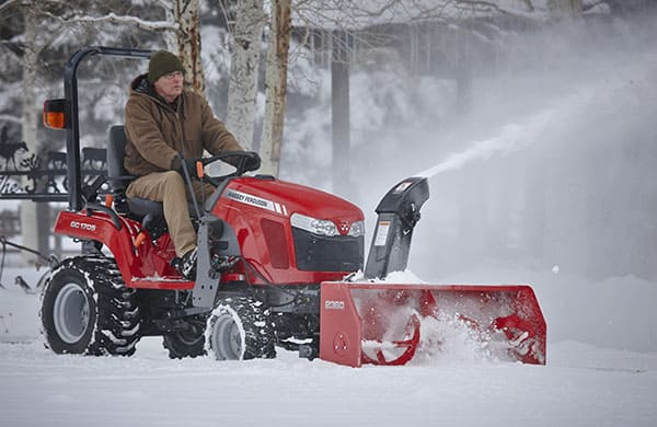 massey ferguson gc1700 series snow removal attachmentsmabie brothers