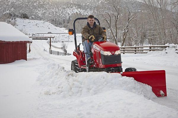 Massey Ferguson GC1700 Series Snow Removal Attachments