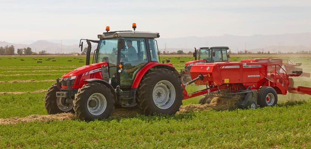 The Hesston 1800 Series Small Square Balers by Massey